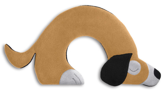 Warming pillow | Bobby the dog Colour: Sand / Midnight – Bild 1
