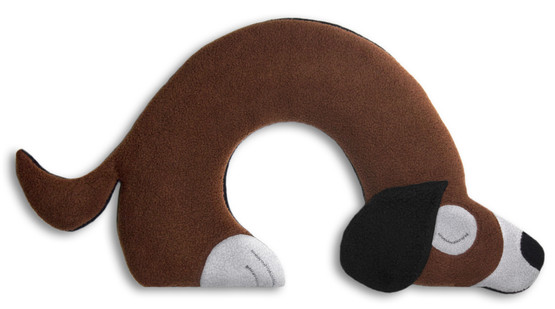 Warming pillow | Bobby the dog Colour: Chocolate / Midnight – Bild 1