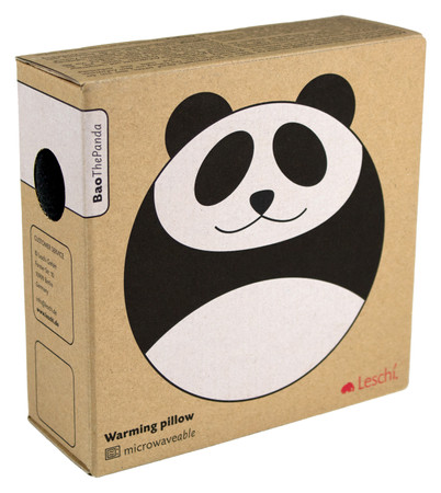 Warming pillow | Bao the panda Colour: Midnight / Midnight – Bild 3
