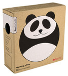 Warming pillow | Bao the panda Colour: Midnight / Midnight