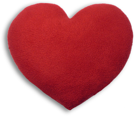 Warming pillow | Warming Heart | big Colour: Fire – Bild 1