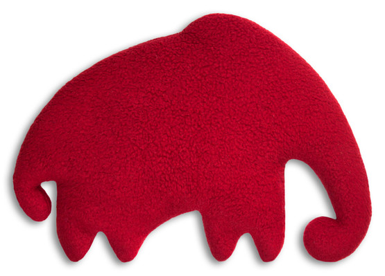 Warming pillow | Mammoth | big Colour: Purple