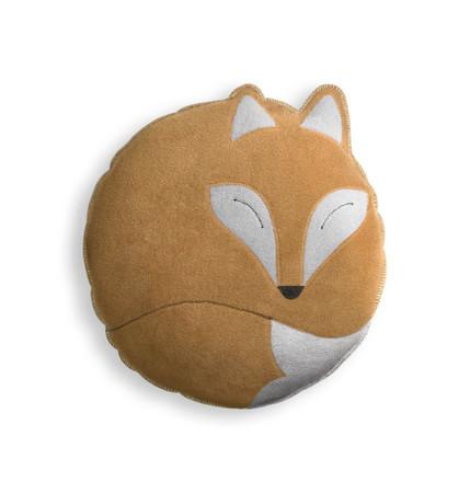 Kuschelkissen | Der Fuchs Paco | klein Farbe: Sand / Mitternacht – Bild 1