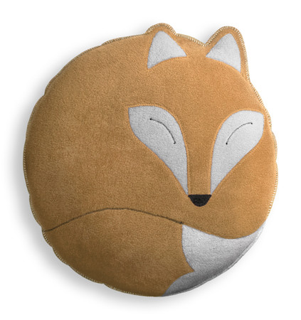 Cuddly cushion | Paco the fox | big Colour: Sand / Midnight – Bild 1