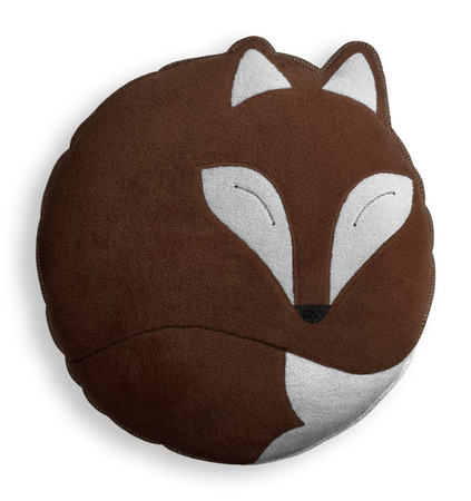 Cuddly cushion | Paco the fox | big Colour: Chocolate / Midnight – Bild 1