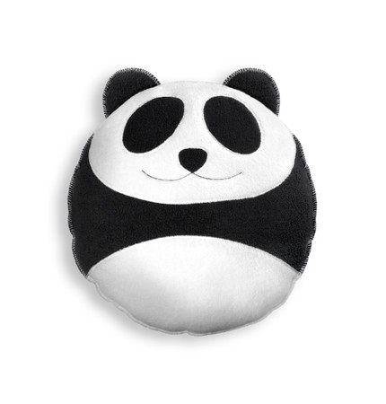 Cuddly cushion | Wang the panda | small Colour: Midnight / Midnight – Bild 1