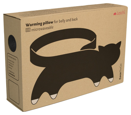 Warming pillow | Coco the cat Colour: Midnight / Midnight – Bild 3