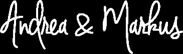 Unterschrift von Andrea und Markus
