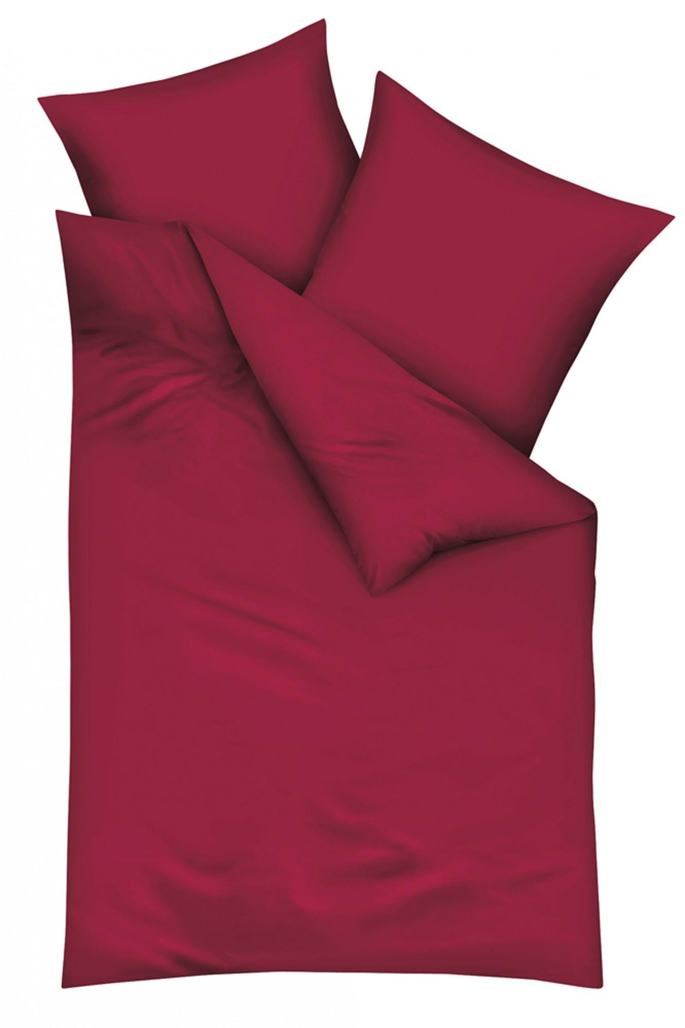 Kaeppel Mako Satin Bettwäsche Uni Größe 200x2002x80x80 Cm Farbe