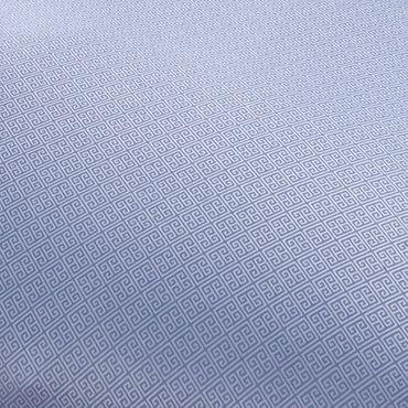 Curt Bauer Mako Brokat Damast Bettwäsche Calibri Größe 200x200+2x80x80 cm Farbe Ozean – Bild 2