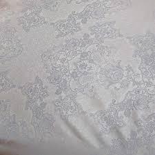 Curt Bauer Mako Brokat Damast Bettwäsche Juliette Größe 155x200+80x80 cm Farbe Vanille – Bild 2