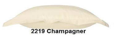 Curt Bauer Mako Satin Bettwäsche Uni Größe 135x200+80x80 cm Farbe 2219 Champagner – Bild 2