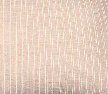 Kaeppel Mako Satin Bettwäsche Eternity Combo Größe 135x200+80x80 cm Farbe Natur – Bild 3