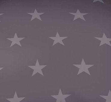 Kaeppel Mako Satin Bettwäsche Essential Stars Größe 135x200+80x80 cm Farbe Zinn – Bild 3