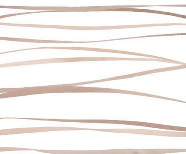 Kaeppel Mako Satin Bettwäsche Essential Motion Größe 155x220+80x80 cm Farbe Natur – Bild 3