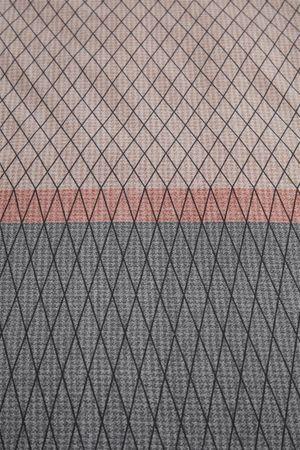 Bedding House Baumwoll Bettwäsche Diamante Größe 155x220+80x80 Farbe Terra – Bild 2