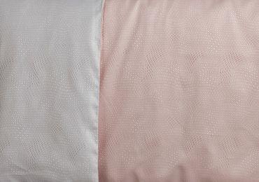 Curt Bauer Mako Brokat Damast Bettwäsche Gwen Größe 200x200+2x80x80 cm Farbe 0127 Kirsche – Bild 2