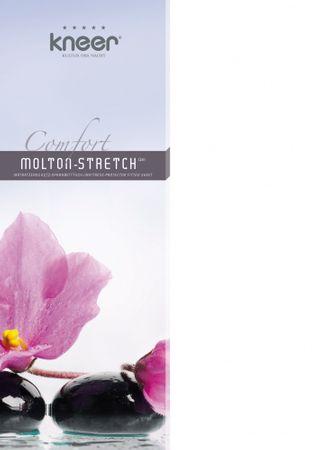 Kneer Comfort Molton Stretch Matratzenschoner-Spannbetttuch Farbe Weiß