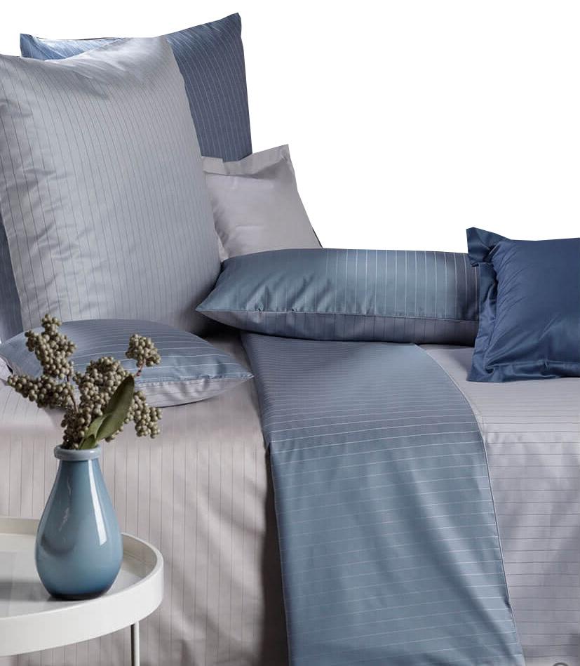 curt bauer mako damast bettw sche ferrara gr e 155x220 80x80 cm farbe ozean bettw sche bettw sche. Black Bedroom Furniture Sets. Home Design Ideas