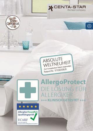 Centa Star Allergo Protect Unterbett Matratzenauflage  Farbe Weiß  – Bild 2