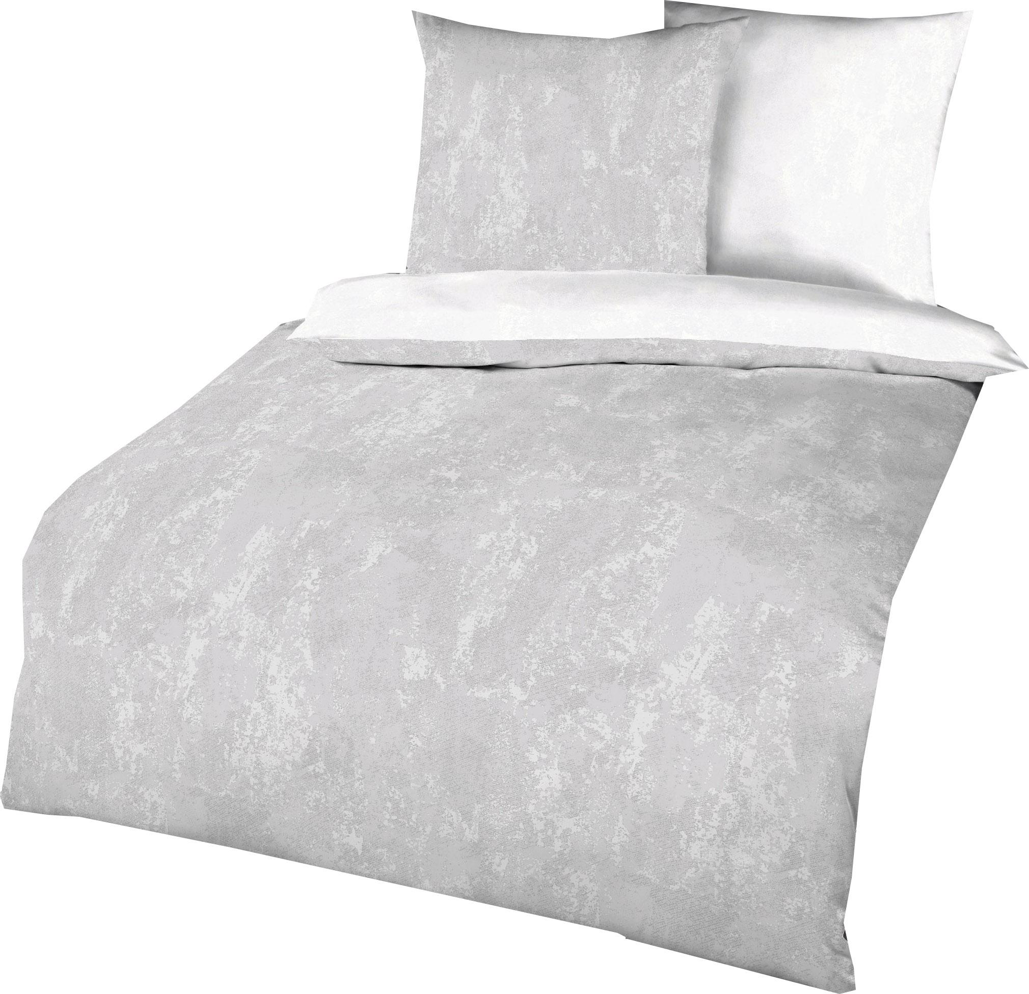 Kaeppel Mako Satin Bettwäsche Essential Texture D Größe 135x200