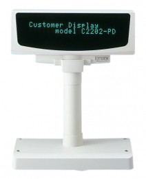 Citizen Customer Display C2202-PD, kit (RS232), white, RS232