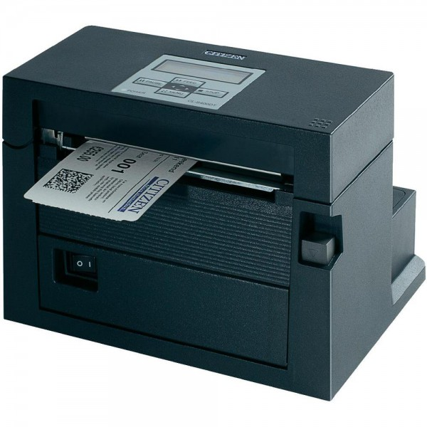Citizen CL-S400DT, 8 Punkte/mm (203dpi), Cutter, RSF, ZPLII, Datamax, Multi-IF (WLAN)