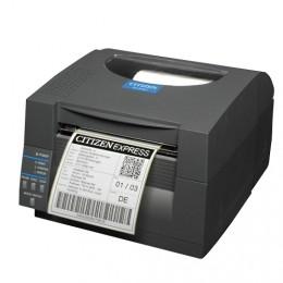 Citizen CL-S521, 8 Punkte/mm (203dpi), Cutter, ZPL, Datamax, Multi-IF (Ethernet, Premium), weiß