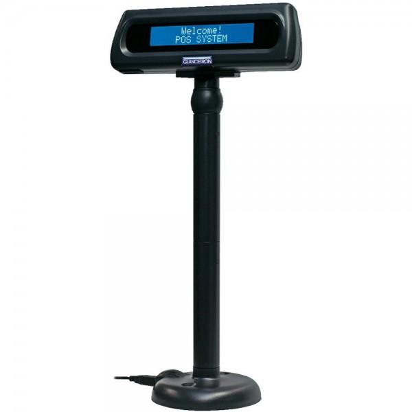 Glancetron Kundenanzeige 8035, USB, schwarz