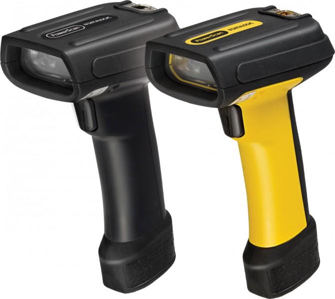 Datalogic PowerScan PD7130, 1D, Multi-IF, Pointer, Kit (USB), schwarz, gelb