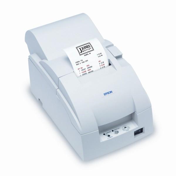 Epson TM-U220A, Ethernet, cutter, white