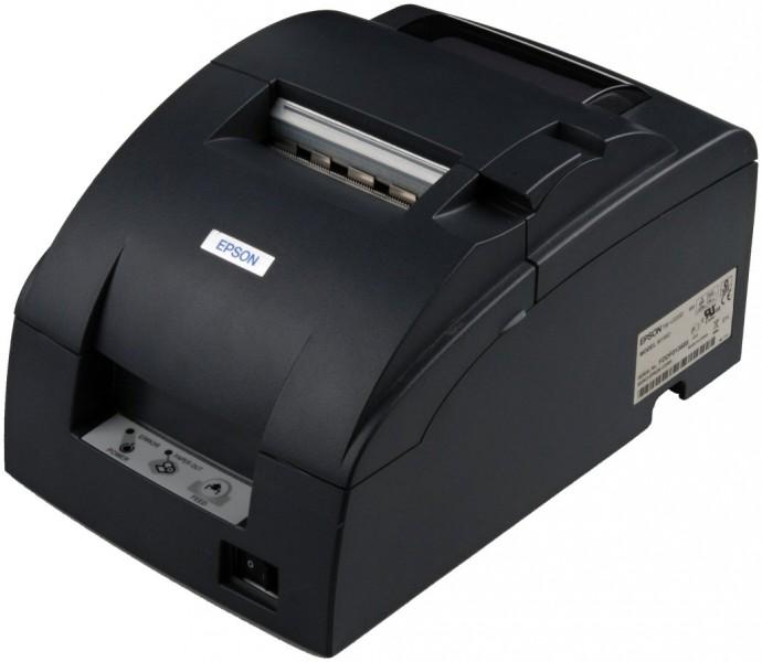 Epson TM-U220B, LPT, cutter, black