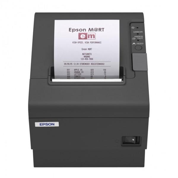 Epson TM-T88IV ReStick, RS232, 8 dots/mm (203 dpi), cutter, black