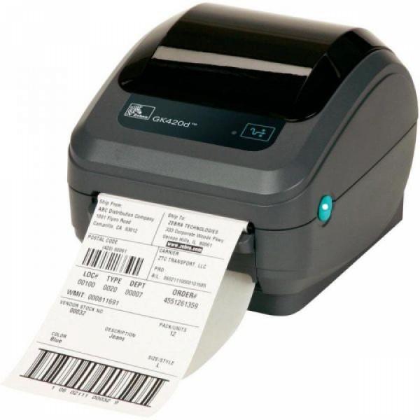 Zebra GX420d rev2, 8 dots/mm (203 dpi), display, EPL, ZPL, multi-IF, print  server (wifi)