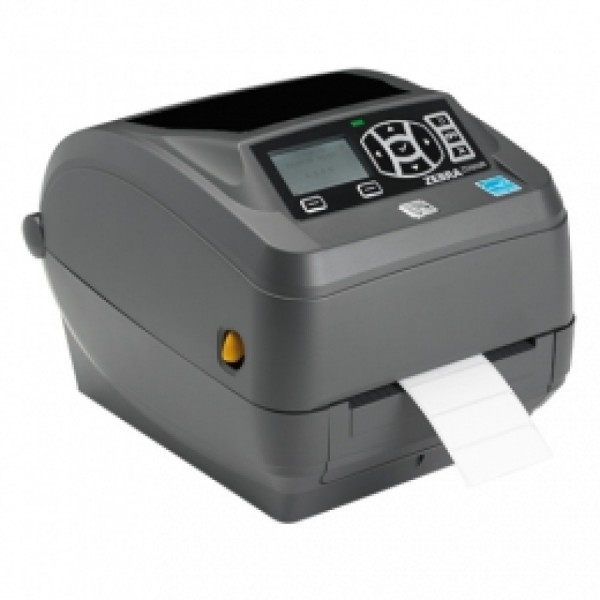 Zebra ZD500, 12 Punkte/mm (300dpi), Peeler, RTC, ZPLII, BT, WLAN, Multi-IF (Ethernet)