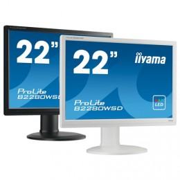 iiyama ProLite B2280HS, 54,6cm (21,5''), weiß