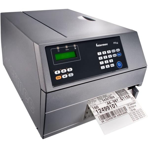 Intermec PX6i, 8 dots/mm (203 dpi), peeler, RTC, multi-IF (Ethernet)