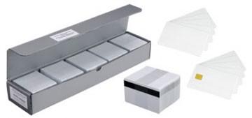 Magnet stripe card, programmed