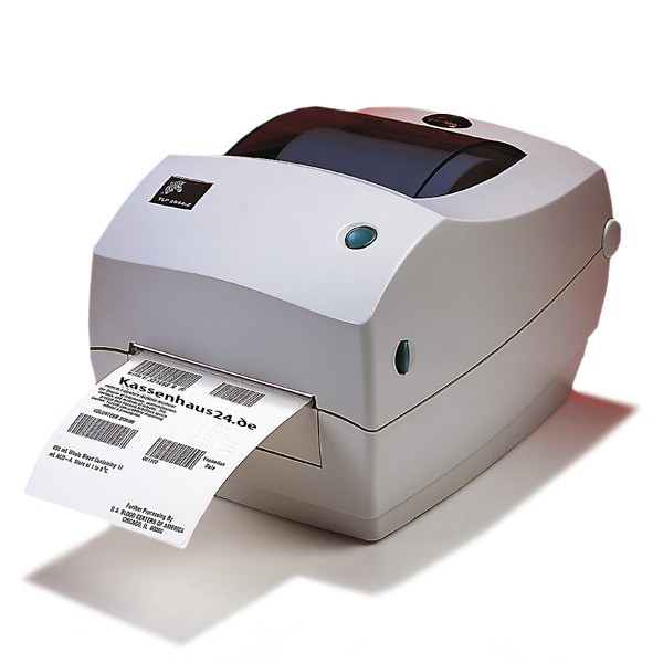 Zebra TLP 2844 Etikettendrucker TLP2844 Label Printer  2844-10320-0001  – Bild 1