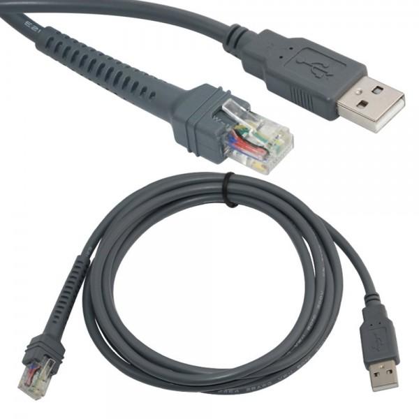 Cable USB 7 ft, straight – Bild 1