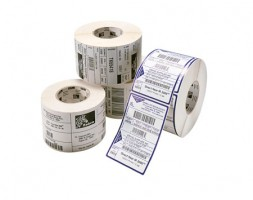 Zebra PolyPro 8000T Cryocool, label roll, synthetic, 38x13mm
