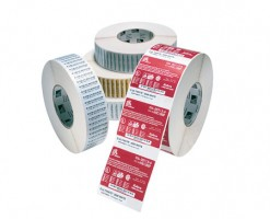 label roll, thermal paper, 76x76,2mm