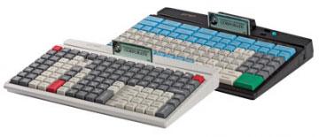 PrehKeyTec MCI 128, alpha, Chip, USB, black