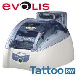 Evolis Tattoo2 RW, single sided, 12 dots/mm (300 dpi), USB, Ethernet