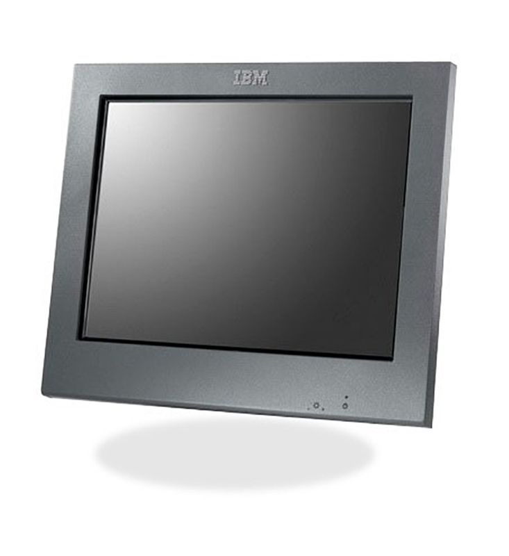 "12 Zoll Monitor IBM TFT-Screen 4820-4FD (12"") ohne Standfuss / Stand – Bild 1"