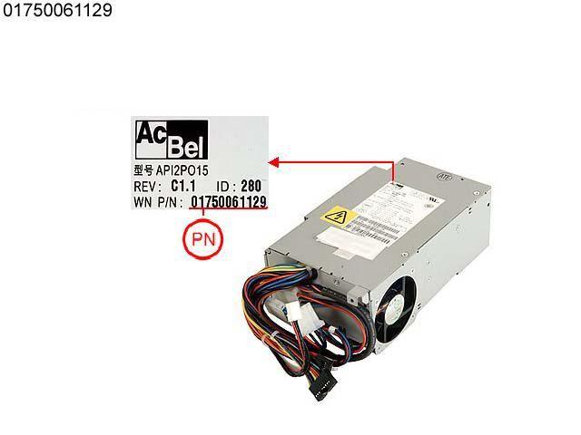 1750061129 Wincor Nixdorf 212W Netzteil API2PO15-280