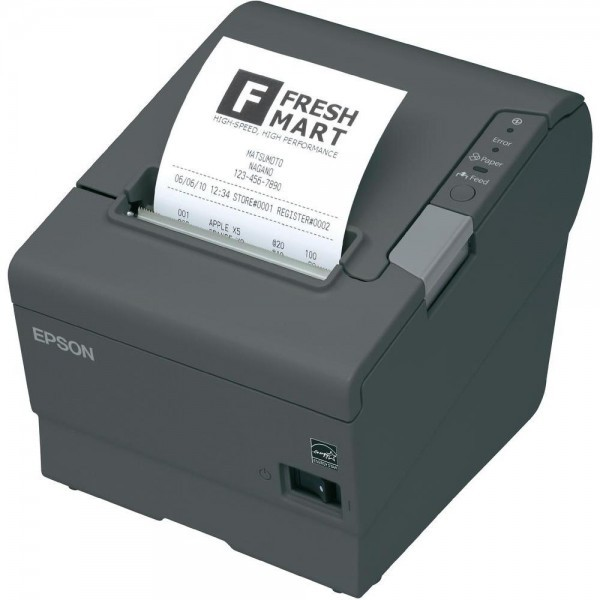 C31CA85051 Bondrucker Epson TM-T88V, USB + Powered-USB, dunkelgrau M244A – Bild 1