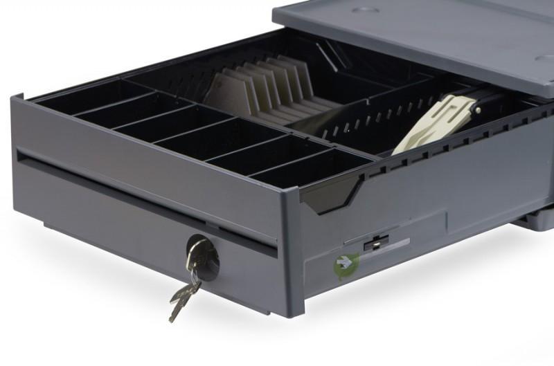 41J7808 IBM Kassenlade Compact, Iron Grey – Bild 2