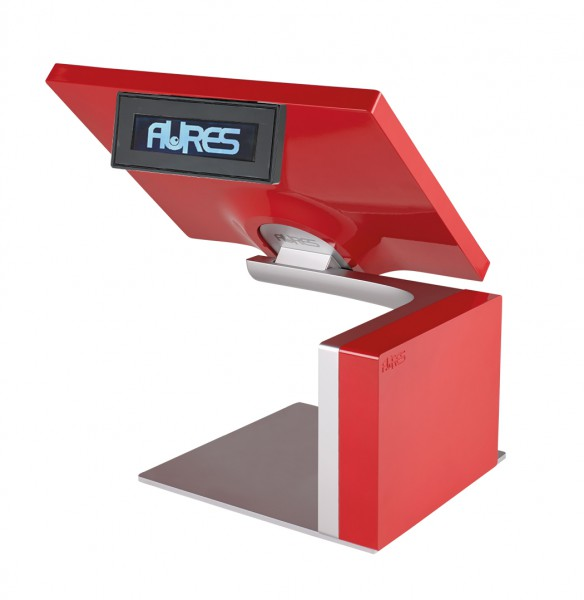 All-In-One Kassensystem AURES SANGO 1047 rot – Bild 3