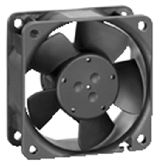 Papst 612 N/2GNI DC axial compact fan
